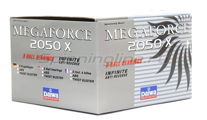 Daiwa - Катушка Megaforce X 2550 - фотография 9