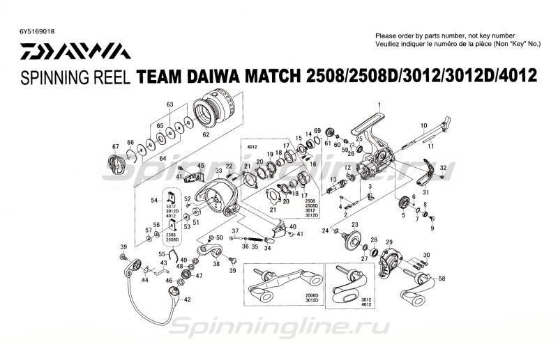 Катушка TD Match 2508 -  9