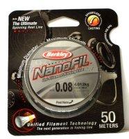Nanofil Berkley 50м 0,08мм clear