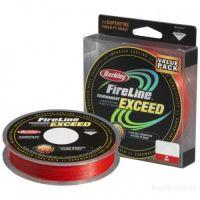 Плетеный шнур Berkley FireLine Exceed Red