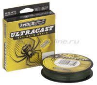 Шнур Ultra Cast 110м 0,17мм Green