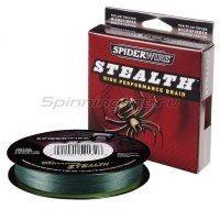 Шнур Spiderwire Stealth 137м 0,38мм Moss Green