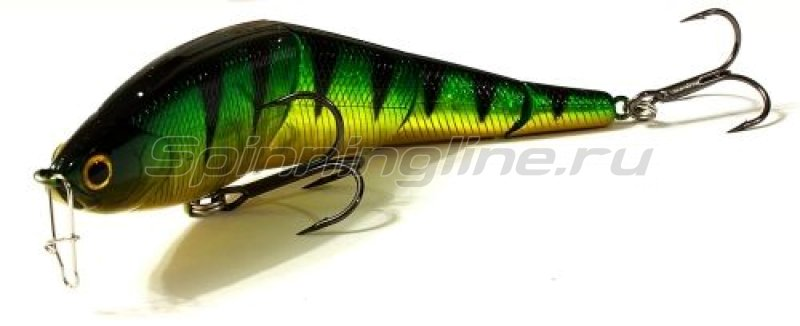 Lucky Craft - Воблер Pointer LL 125S Smasher Aurora Green Perch 280 - фотография 1