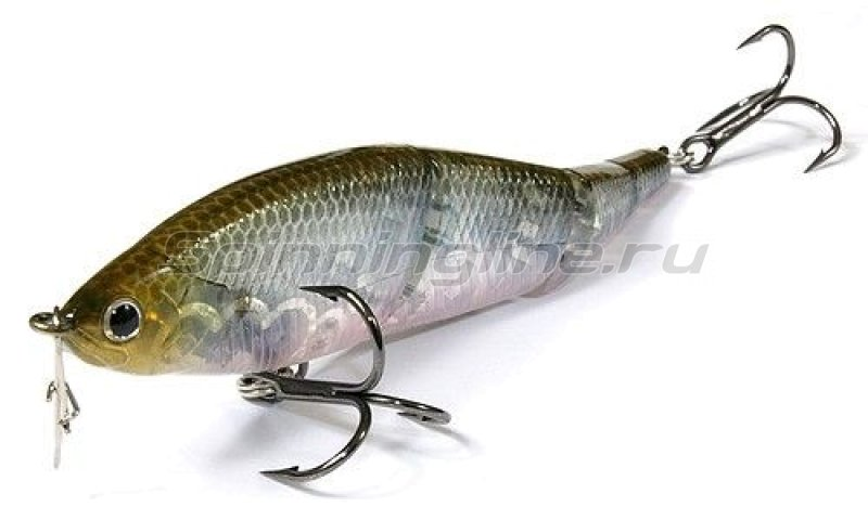 Lucky Craft - Воблер Pointer LL 145S Smasher Ghost Minnow 238 - фотография 1