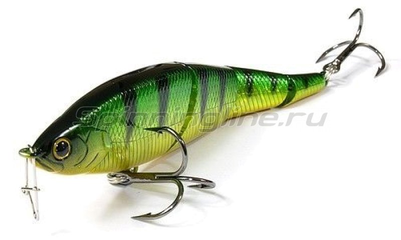 Lucky Craft - Воблер Pointer LL 145S Smasher Aurora Green Perch 280 - фотография 1