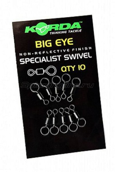 Вертлюг Korda Big Eye Swivels - фотография 1
