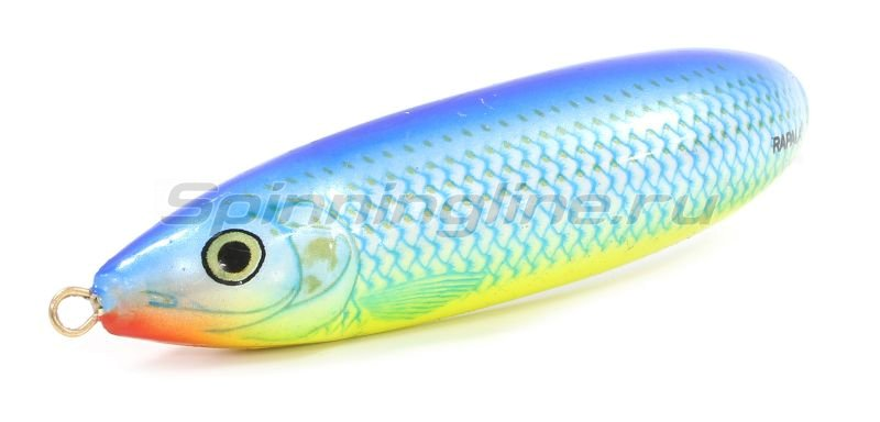 Rapala - Блесна Minnow Spoon 08 BSH - фотография 1