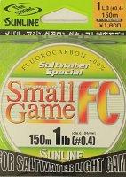 Флюорокарбон Sunline SWS Small Game FC 150м 0.104мм