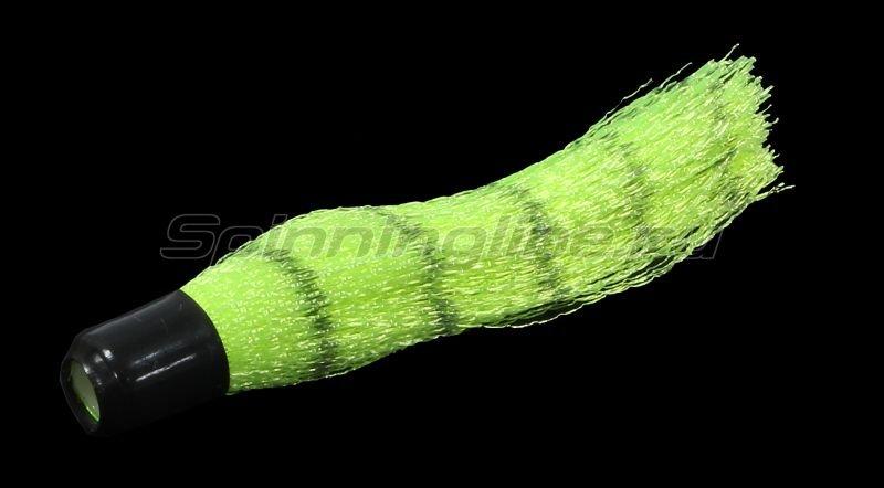 Вабик 3.5см d-3мм зелено-полосатый -  1