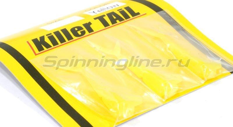 Imakatsu - Силиконовые хвосты Killer Tail yellow - фотография 1