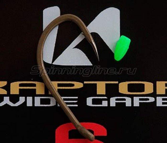 Крючок Korda Kaptor Wide Gape Gravel №4 - фотография 1