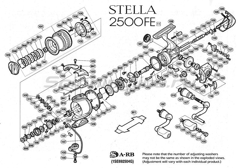 Shimano - Катушка Stella 2500 FE - фотография 2