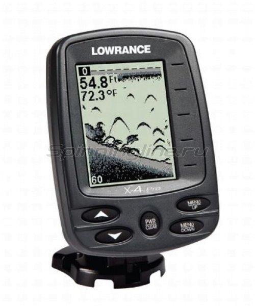 Эхолот Lowrance X-4 Pro 83/200 kHz W/XDCR -  1