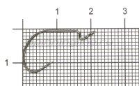 Крючок VMC 7310 BN №4