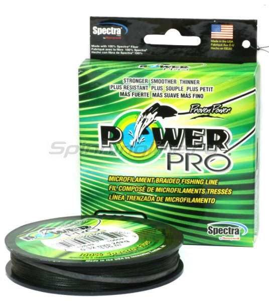 Шнур Power Pro Moss Green 135м 0.08мм -  1