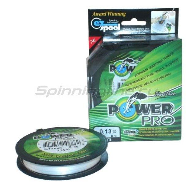 Power Pro - Шнур White 135м 0.10мм - фотография 1