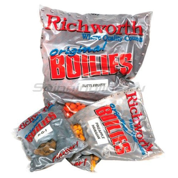 Richworth - Бойлы Shelf Life 20мм 400гр Strawberry Jam (клубника джем) - фотография 1