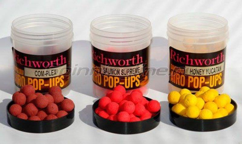 Richworth - Бойлы Airo Pop-Up 14мм Strawberry Jam (клубничный джем) - фотография 1