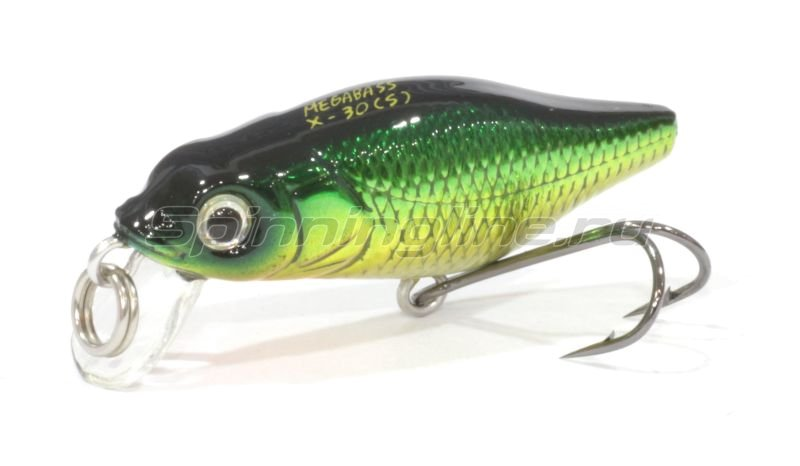 Megabass - Воблер X-30 Marukin S m golden lime - фотография 1