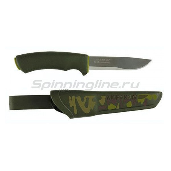 Нож Mora Kniv Bushcraft Forest Camo - фотография 1