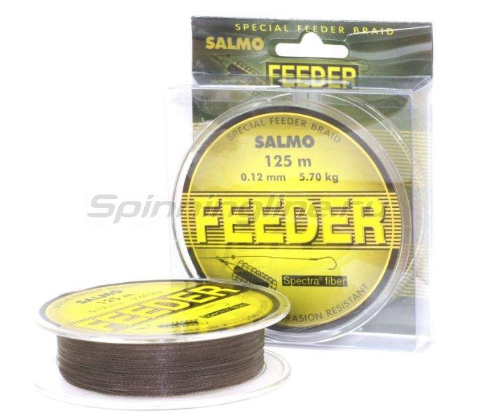 Salmo - Шнур Feeder 125м 0.12мм - фотография 2