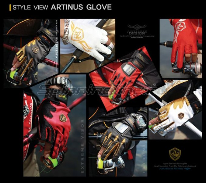 Перчатки Artinus AG-823 L -  2