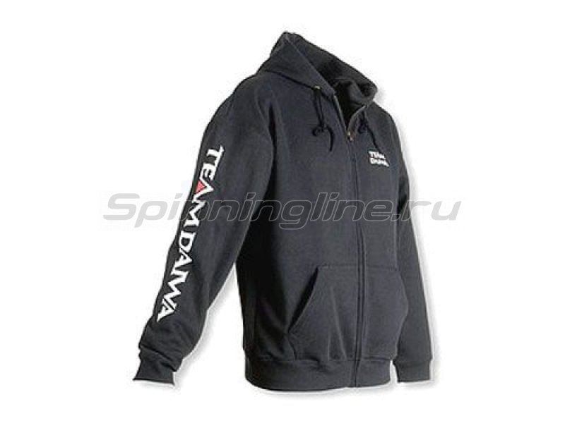 Team Daiwa Zipper Hoodie Black L - фотография 1