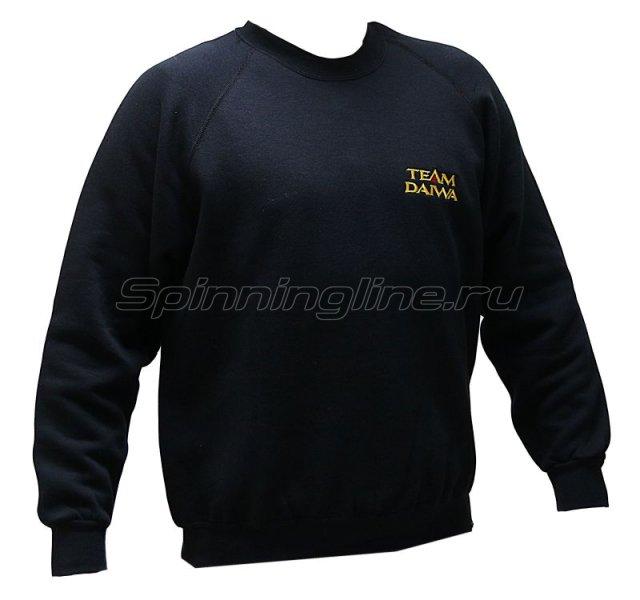 Толстовка Daiwa Sweatshirt Black XXL - фотография 1