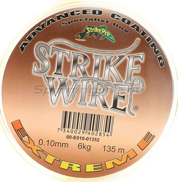 STRIKE PRO - ���� Wire Extreme 135� 0.10�� yellow - ���������� 1