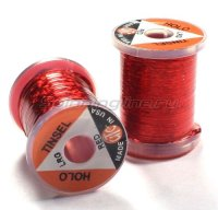 Люрекс Holographic Tinsel Large Red