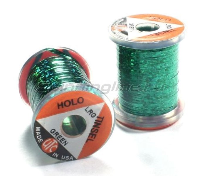 Wapsi - Люрекс Holographic Tinsel Large Green - фотография 1