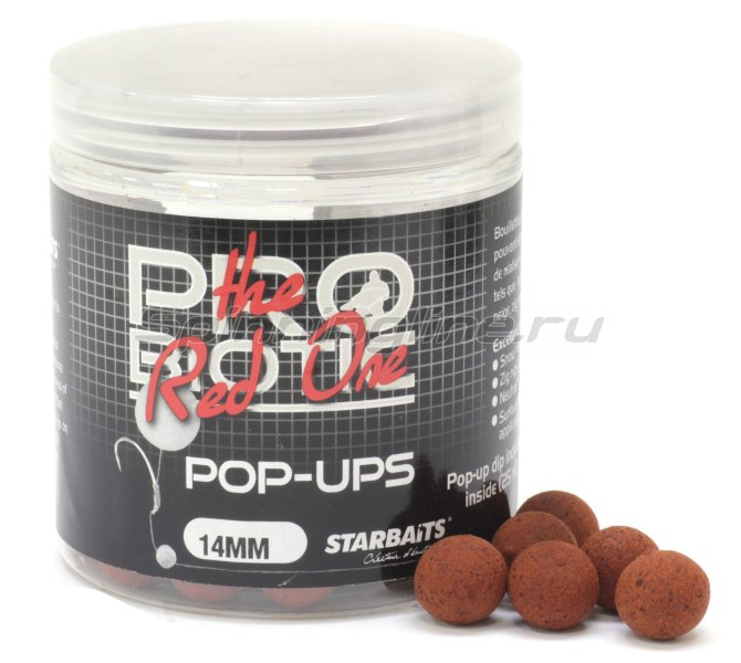 Бойлы Starbaits Performance Concept Hot Demon Long Life Boilies 14мм 1кг - фотография 1