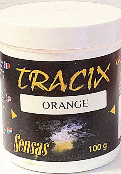 Краска для прикормки Sensas Tracix Orange 0,1кг -  1