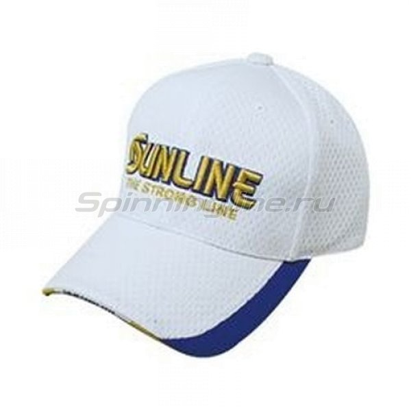 Кепка Sunline Fishing Mesh Cap || white - фотография 1