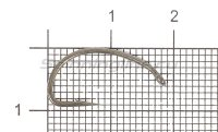Крючки Covert Mugga Hooks №8