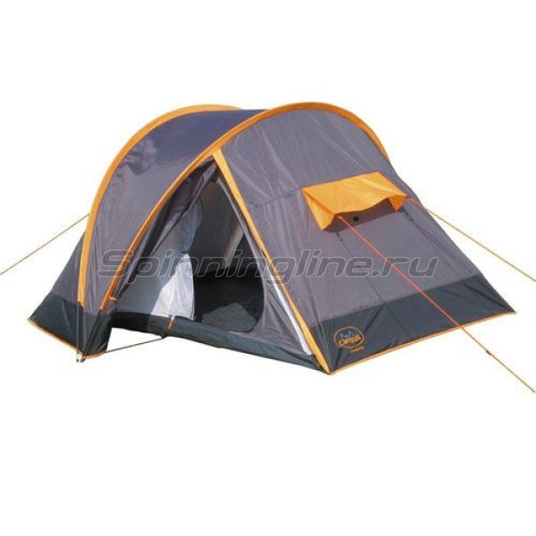 Campus - Палатка туристическая Compact Plus 2 (grey/orange) - фотография 1