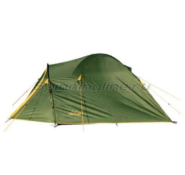 Campus - Палатка туристическая Beziers 2 (khaki 517/yellow 409) - фотография 1