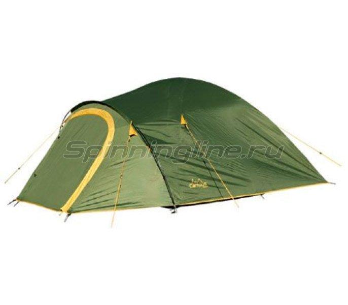 Campus - Палатка туристическая Beziers 3 (khaki 517/yellow 409) - фотография 1