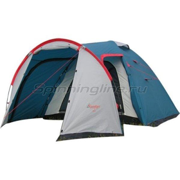 Палатка туристическая Rino 4 (цвет royal) -  1
