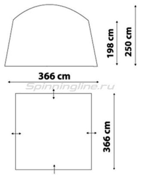 Тент-Шатер Safary (цвет royal) -  2