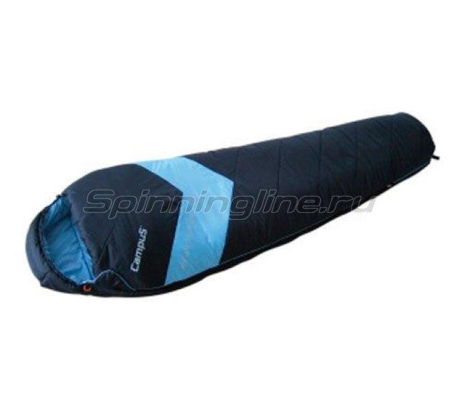 Спальный мешок Adventure 300 молния R (black 780/yellow 400) -  1