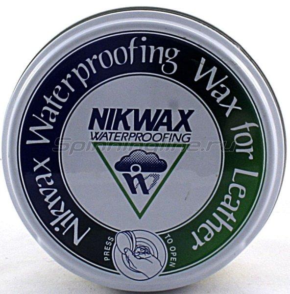 Водоотталкивающая пропитка для обуви Nikwax Wax 102мл - фотография 1