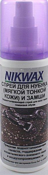Водоотталкивающая пропитка для обуви Nikwax Nubuck Suede Spray - фотография 1