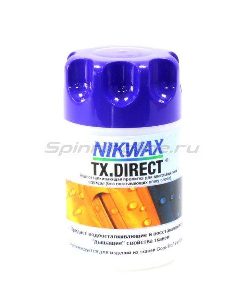 Nikwax - Водоотталкивающая пропитка для мембранных тканей TX Direct Wash-in 100мл - фотография 1