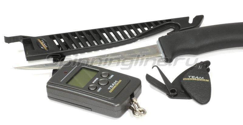 Набор инстументов Cormoran Team: нож, весы, кусачки - фотография 1