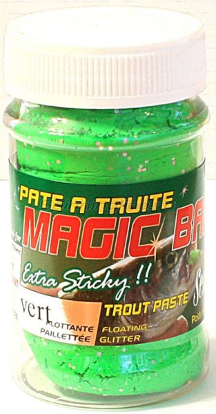 Паста для форели Sensas Magic Bait Green 50 гр - фотография 1