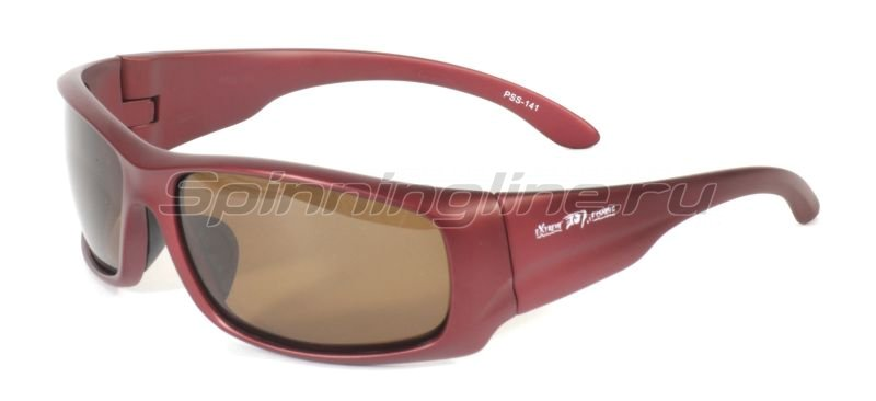 Очки Extreme Fishing Passion PSS- 141 Matte Crimson-Brown - фотография 1