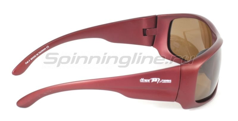 Очки Extreme Fishing Passion PSS- 141 Matte Crimson-Brown -  3