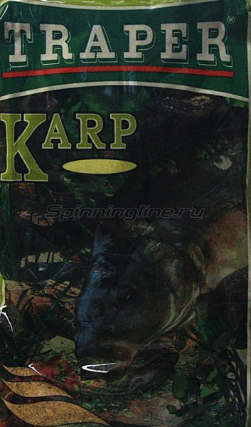 Прикормка Traper Карп 1кг - фотография 1
