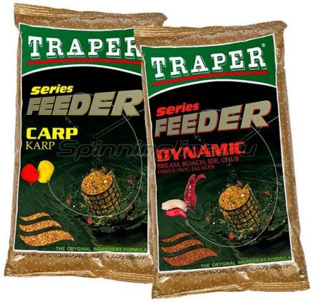 Прикормка Traper Feeder Динамик (лещ, плотва, язь, голавль) 1кг - фотография 1